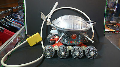 OLD VINTAGE CCCP MOONROVER LUNOCHOD SPACE TOY REMOTE CONTROL BOXED