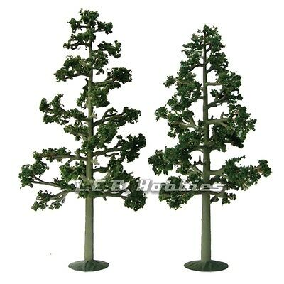 """JTT Scenery Products Lodgepole Pine Tree O-Scale 7.5""""-8"""" Super Scenic 2/pk 92116"""