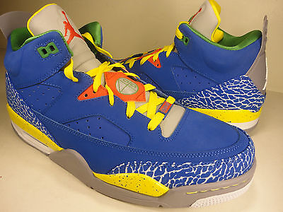Nike Air Jordan Son Of Low Do The Right Thing White Blue SZ 13.5 (580603-433)