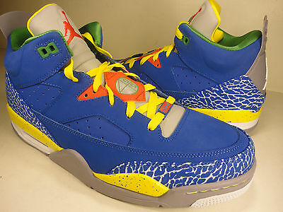 Nike Air Jordan Son Of Low Do The Right Thing White Blue SZ 10.5 (580603-433)