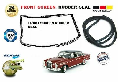 For Mercedes Heckflosse Coupe  W110 W111 W112 1959-> Front Window Rubber Seal