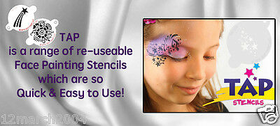 TAP Re-useable Face Paint Stencils