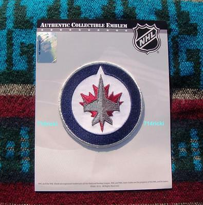 Official NHL Winnipeg Jets Logo Collectible Patch