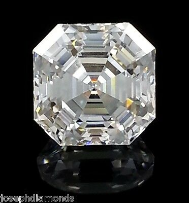 ROYAL ASSCHER CUT Loose Lannyte Lab Simulated Diamond D Flawless 1,2,3,4,5 ct