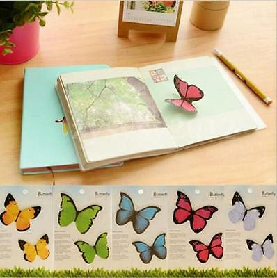 Cute Butterfly Sticky Notes Memo Bookmark Marker Post-It Index Tab Flag Sticker