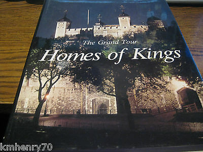 The Grand Tour Homes of Kings by Flavio Conti HC DJ Illustrated