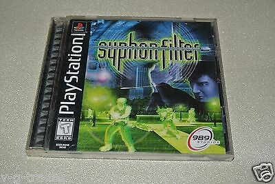B2 ~ Syphon Filter (Sony PlayStation 1, 1999) PS1 COMPLETE