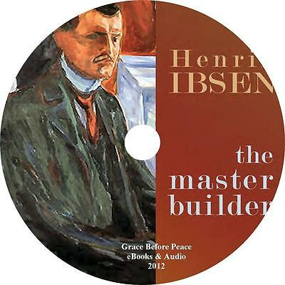 The Master Builder, Classic Audiobook by Henrik Ibsen on 1 MP3 CD