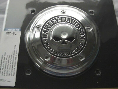 Harley Davidson Skull Luftfilter Cover Air Cleaner Twin Cam 29417-04