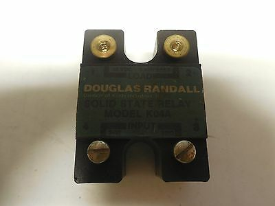 DOUGLAS RANDALL SOLID STATE RELAY K04A 32Vdc 4A A AMP