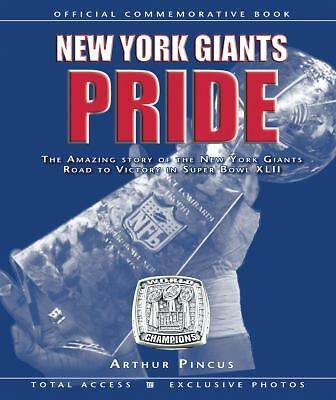 New York Giants Pride/Amazing Story of Road to Victory in Super Bowl XLII/new
