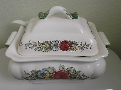 Norleans Vintage Soup Tureen with Cover & Ladle