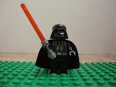 STAR WARS MINIFIGURE DARTH VADER WITH RED LIGHTSABER