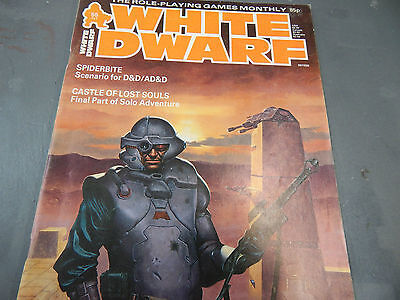White Dwarf role playing monthly issue July 55 - 1984