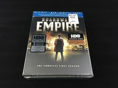 Boardwalk Empire: The Complete First Season (Blu-ray Disc, 2012, 9-Disc Set)