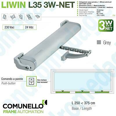 LIWIN L35 3W-NET 24V 350N GREY Actuators synchronized chain for windows