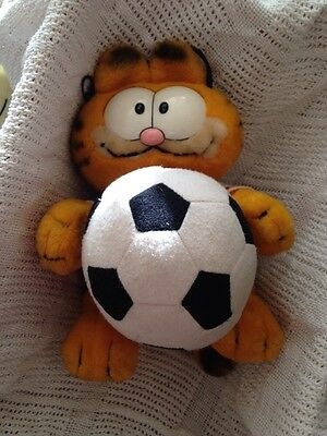 Garfield Football Is My Life With Ball  By Dakin From 1980's