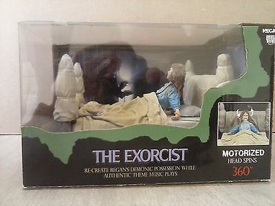 Figure The Exorcist NECA - Regan Possessed Action Figure with motorized head 6""