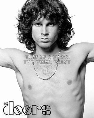 Jim Morrison The Doors Rock Music Glossy 8X10 B&w Photo Picture #124