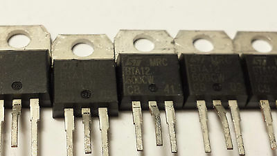BTA12-600CW 12A 600V TRIAC Lot of 20 pieces.(R6S5.3B2)