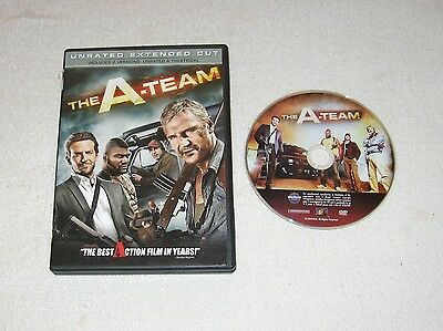 Neeson THE A-TEAM UnRated Ext. Ed. EXCELLENT CONDITION Cooper Biel Jackson W/S