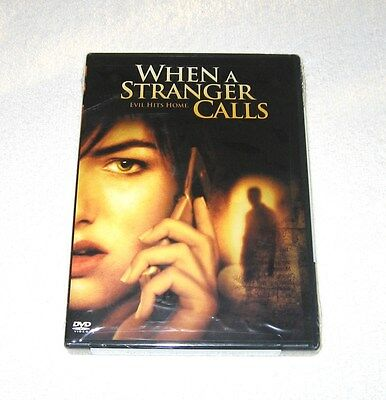 Camilla Belle WHEN A STRANGER CALLS Brian Geraghty BRAND NEW FACTORY SEALED w/s