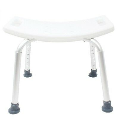 ON SALE !!Shower Seat Bathtub Tub Chair Shower Bench Without Backrest White P