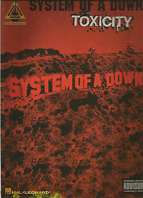 System Of A Down Toxicity Guitar Tab Tablature Song Book