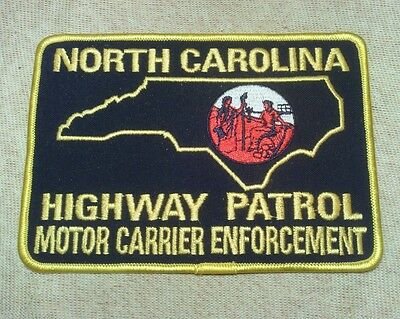 NC North Carolina Highway Patrol Motor Carrier Enforcement Patch