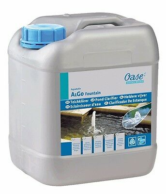 Oase AquaActiv AlGo Fountain 5 L Zierbrunnenklärer TOP NEU