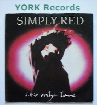 "SIMPLY RED - It's Only Love - Excellent Condition 7"" Single WEA YZ 349"