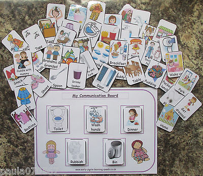 Bespoke BUMPER pack Pec flash cards & A4 Boards included!~2years + Autism~SEN