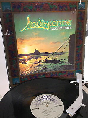 Lindisfarne - Back And Fourth 1978 US Pressing on ATCO in Ex/VG 11 Track LP
