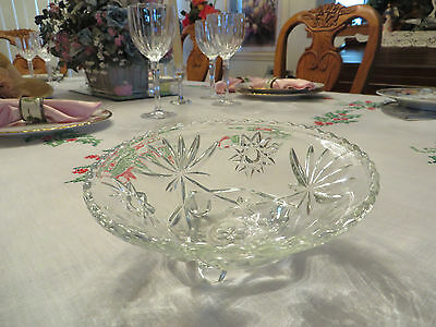 Neat Clear Glass Round Candy Dish Clear Glass Round Bowl