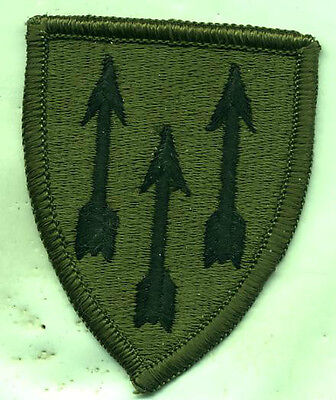 US Army DEFENSE ATOMIC SUPPORT AGENCY SUBDUED Patch