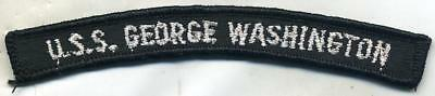 US Navy CVN-73 USS George Washington Patch Tab
