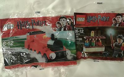 New LEGO Harry Potter Poly Sets HOGWARTS EXPRESS 40028 & The POTION LAB 30111