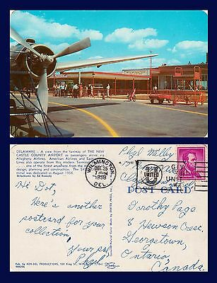 US DELAWARE WILMINGTON CASTEL COUNTY AIRPORT OCTOBER 25 1958 TO GEORGETOWN ONT