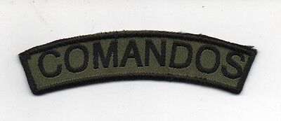 PORTUGAL PORTUGUESE COMANDOS COMMANDOS SHOULDER PATCH 80mm