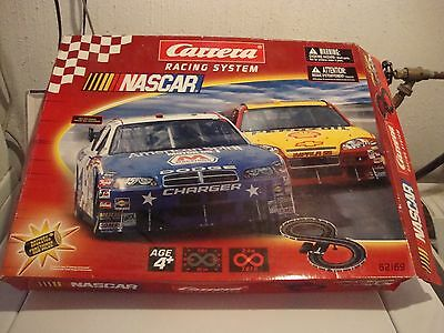 CARRERA 1/43  NASCAR RACING SYSTEM WITH CARS (NEW)