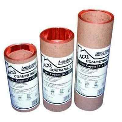 AMERIMAX HOME PRODUCTS 8506712 12-Inch x 20-Feet Copper Flashing