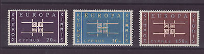 Cipro 1963 stamps
