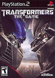 Transformers: The Game  (Sony PlayStation 2, 2007) [Black Label] Complete