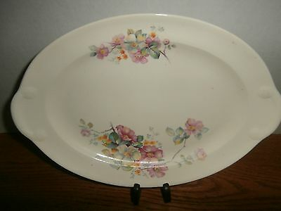 """TAYLOR SMITH TAYLOR PLATTER 11 & 1/2 X 8 """". FLORAL EXCELLENT COND 5372,5373,4372"""
