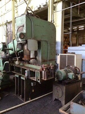 100 Ton Elmes Hydraulic Straightening Press (109189)