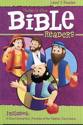 Bible Readers - Level 2 Learning to Read Book for Children - 3 In 1 Story Book