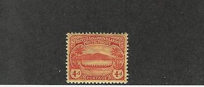 Solomon Islands, British, Postage Stamp, #12 Mint NH, 1911