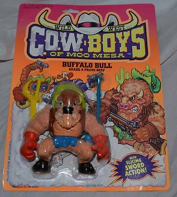 1991 Cowboys of Moo Mesa Buffalo Bill action figure Code of the West