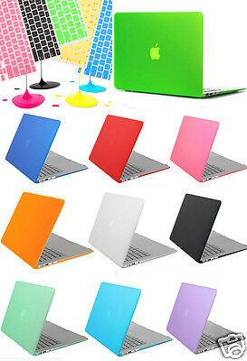 Rubberized Hard Case Cover&Keyboard Cover for Macbook  Air 11'' 13'' Pro 13 15''