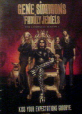 GENE SIMMONS FAMILY JEWELS The COMPLETE Season One 13 Episodes +Special Features